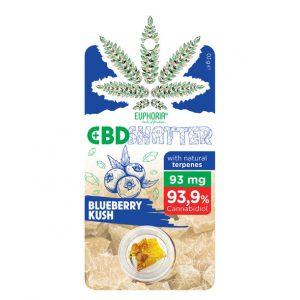 CBD Shatter Blueberry Kush