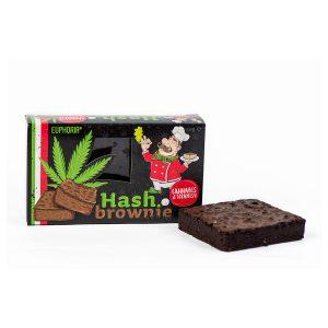 Cannabis Brownie van Euphoria