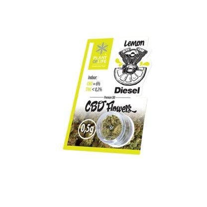CBD flowers lemon diesel